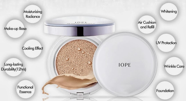 iope air cushion spf50, bb cream best, bb cream terbaik, bb cushion murah