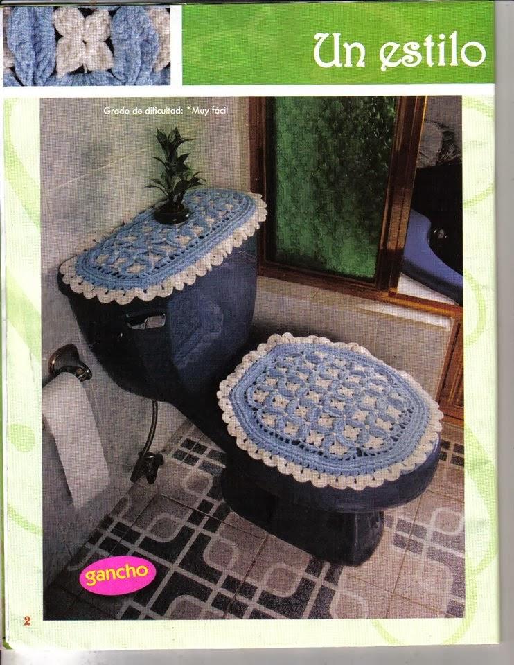 Revistas De Decoracion De Baños | Revista De Crochet Para El Bano Gratis Revistas De Manualidades
