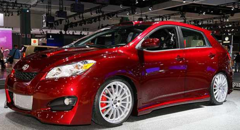 2017 Toyota Matrix Specs