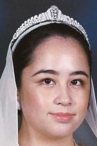 diamond art deco tiara pahang malaysia princess tengku jihan