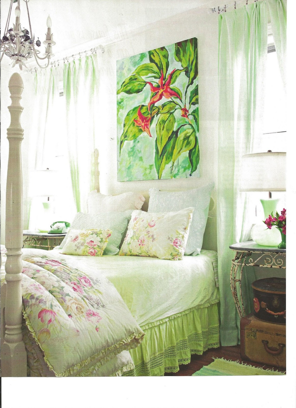 Jane Coslick Cottages My Favorite Bedroom And More: Jane Coslick Cottages : The Best Of Fleamarket Style