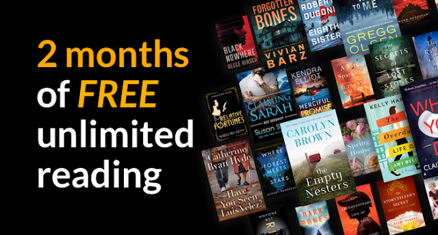 2 months of FREE Kindle Unlimited