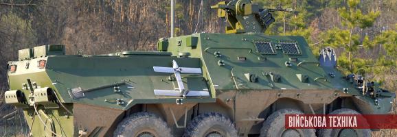 Створено нову командно-штабну машину БТР-3КШ