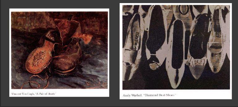 """""""Diamond Shoes"""" vs """"Peasant Shoes"""""""
