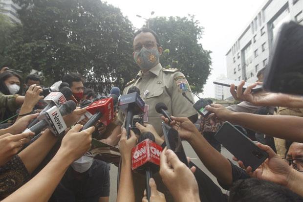 Anies Baswedan Tegaskan Tak Menerapkan Lockdown Akhir Pekan