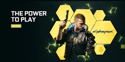 Nvidia GeForce Now website
