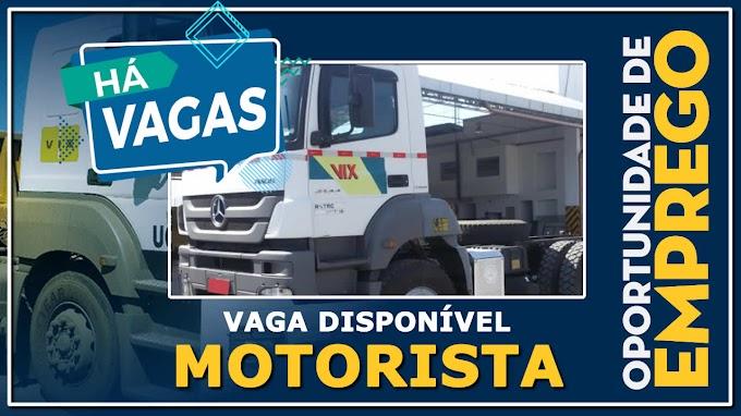 VIX LOGISTICA ABRE VAGAS PARA MOTORISTA