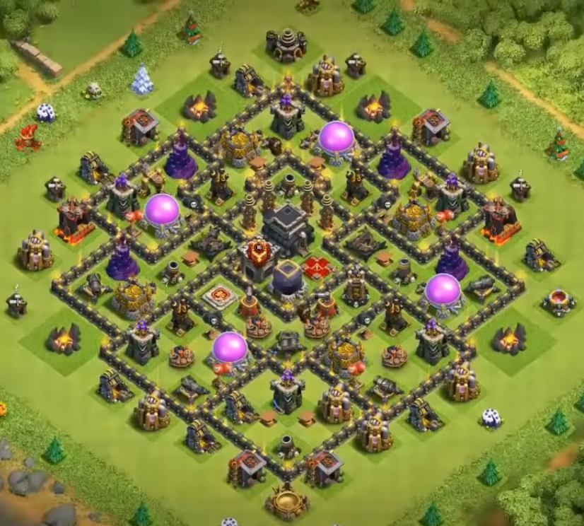 town hall 9 farming layout design