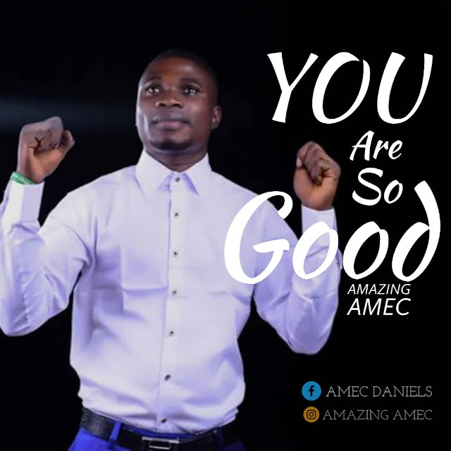 NEW MUSIC: You are so Good by Amazing Amec