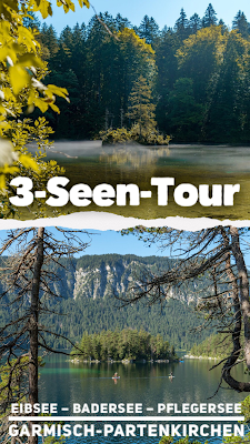 3-Seen-Tour Eibsee – Badersee – Pflegersee  Wandern Garmisch-Partenkirchen 22