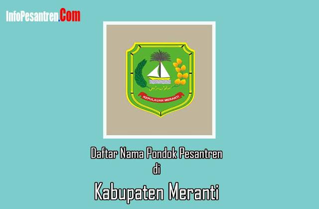 Pesantren di Kabupaten Meranti