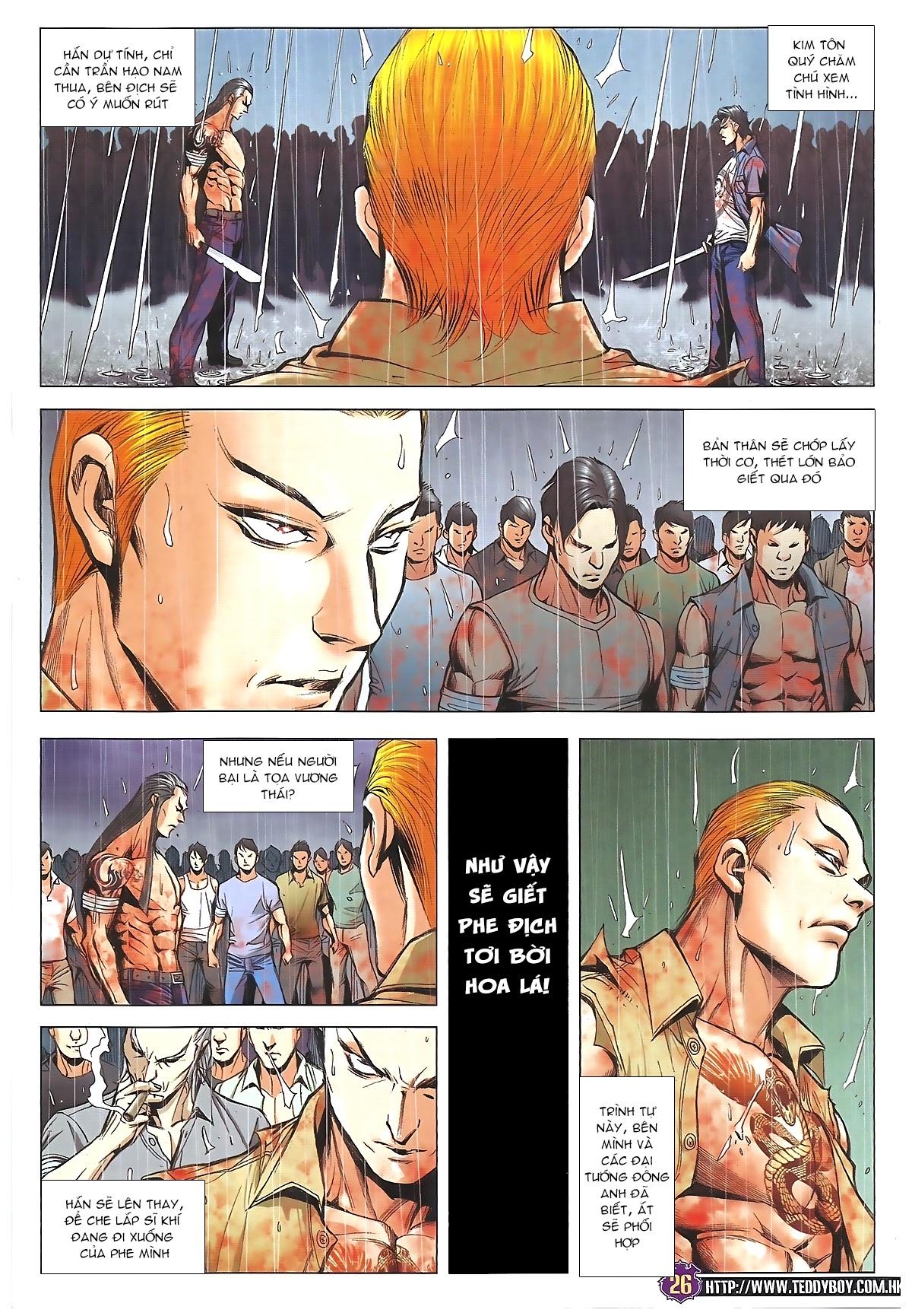Người Trong Giang Hồ chapter 1852: khiêu chiến kim tôn quý trang 24