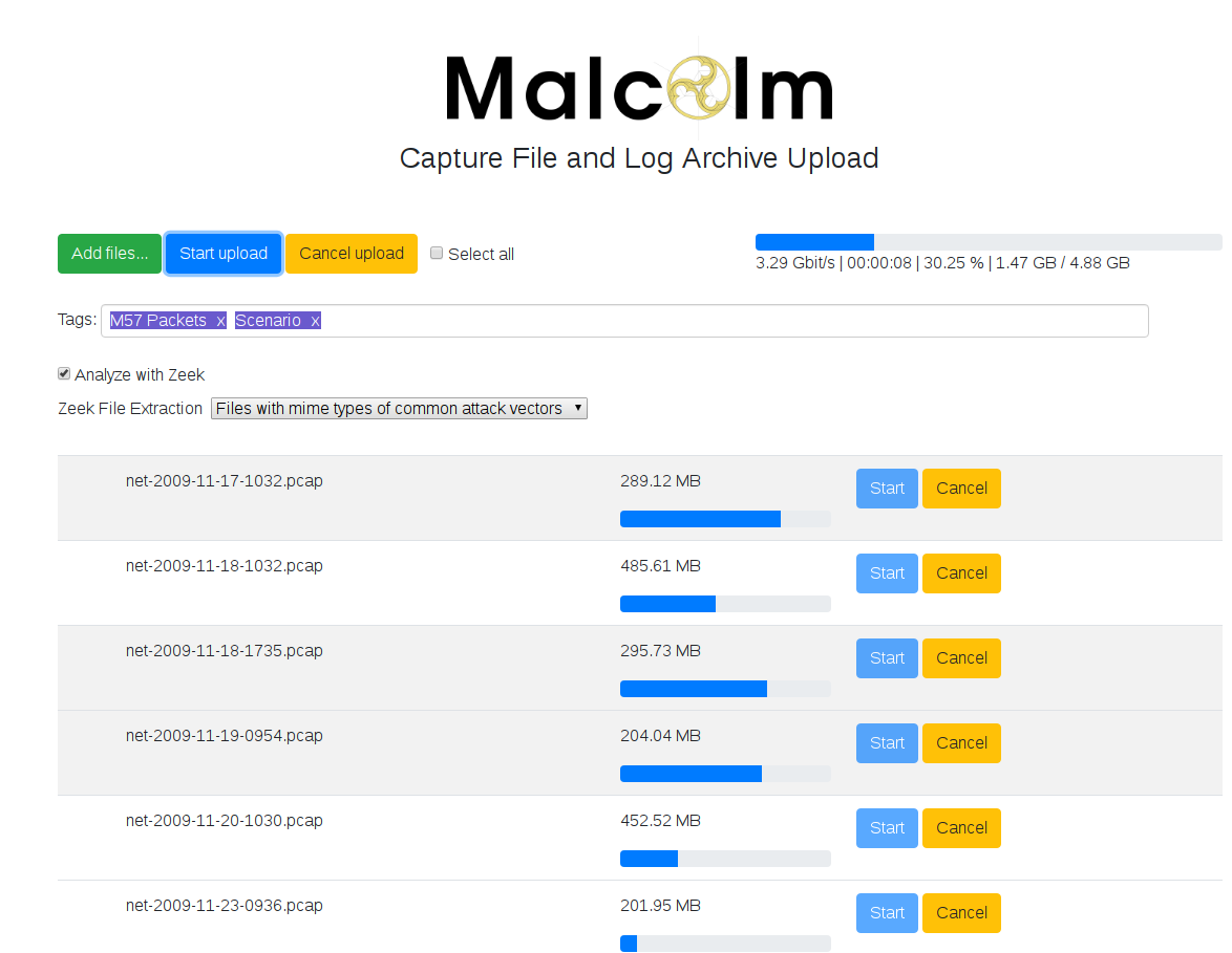 Malcolm - A Powerful, Easily Deployable Network Traffic
