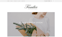 Theme Premium Dari Beautytemplates Download Familia Blogspot Blogger Template Gratis Responsive | Seo Friendly | Clean