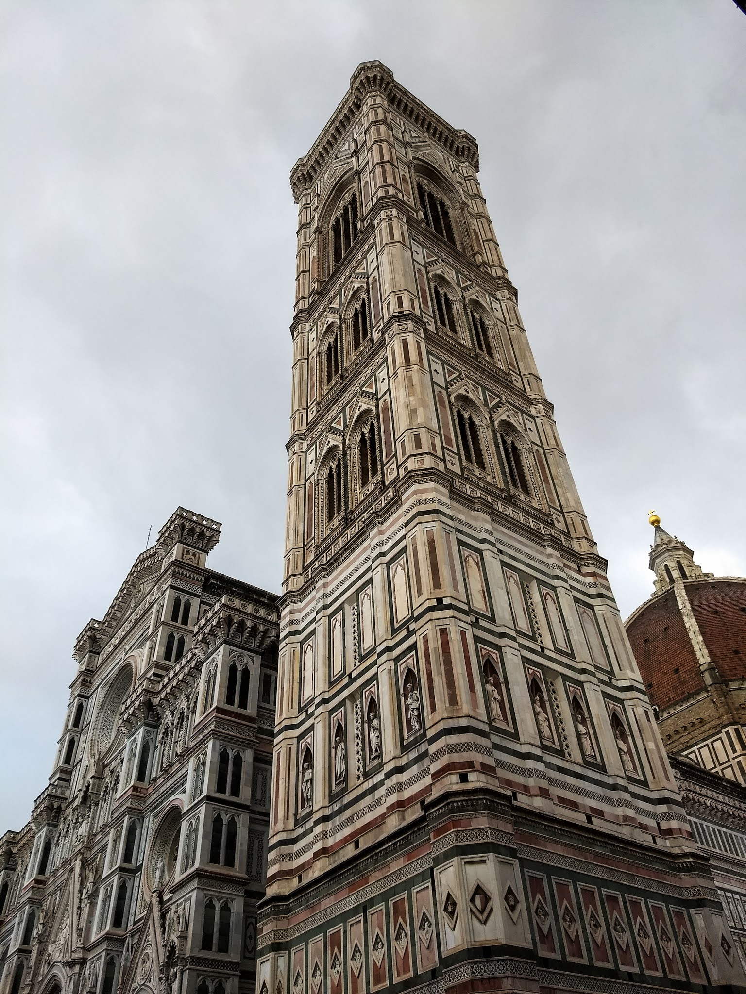 View of the Cathedral of Santa Maria del Fiore.