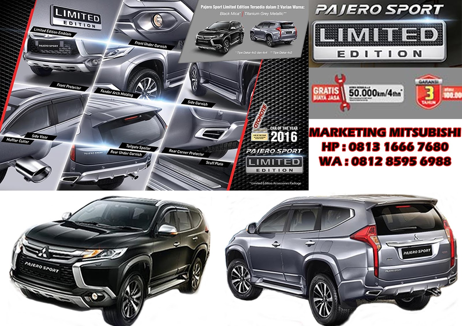 Harga All New Pajero Sport Limited Edition | DEALER ...