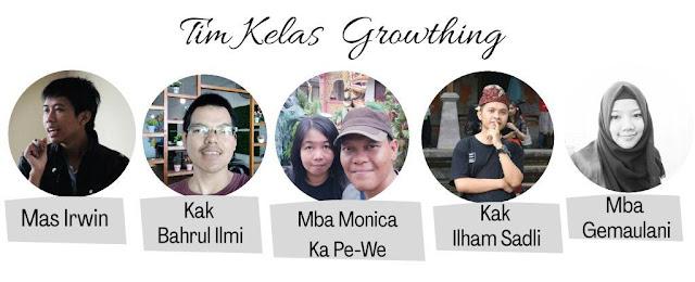 tim dan coach kelas growth blogger