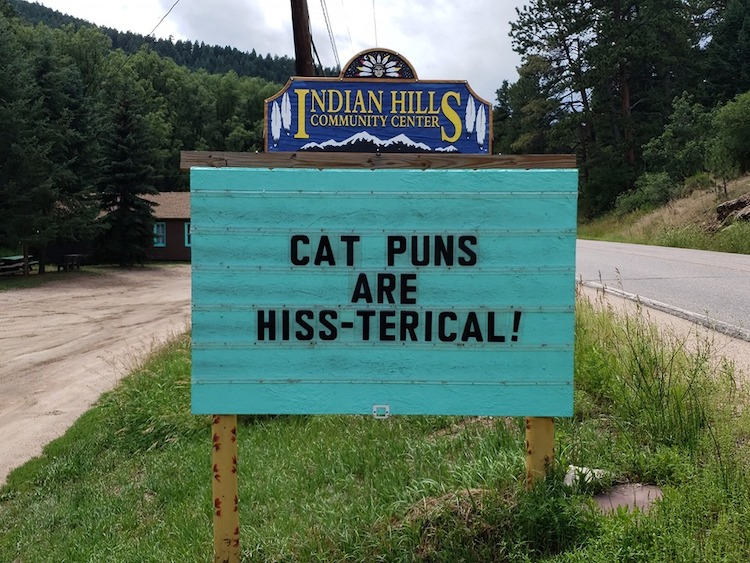 Hilarious Pun Dad Jokes On Community Road Signs