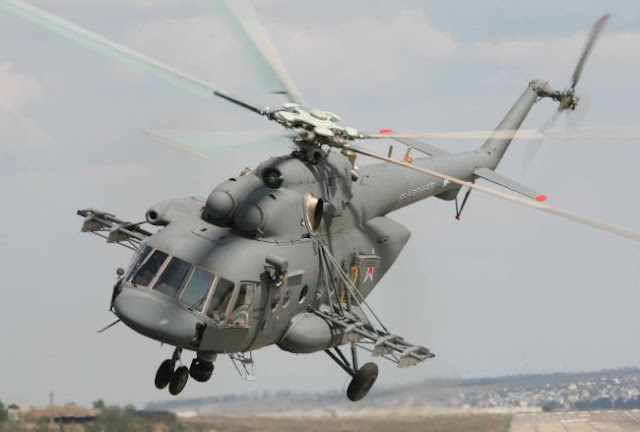 Mil Mi-8AMT helicopter