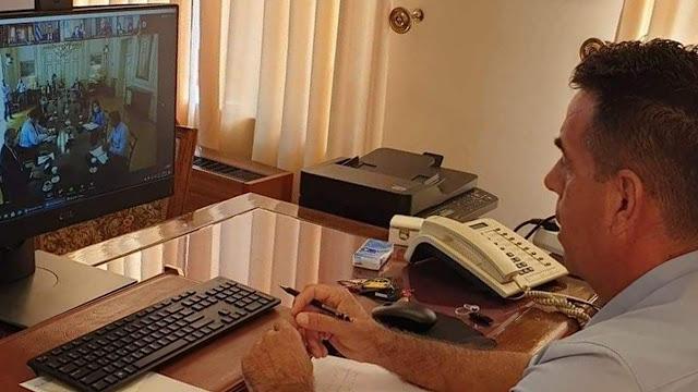 Σε τηλεδιάσκεψη με τον Πρωθυπουργό συμμετείχε ο Δήμαρχος Ναυπλιέων