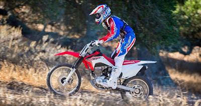 Honda CRF150F cocok untuk yang berbadan pendek