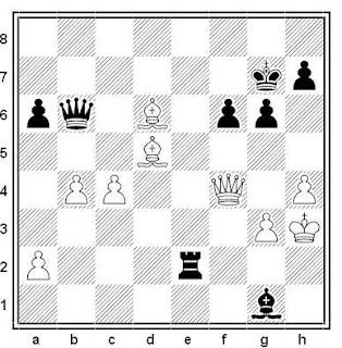 Posición de la partida de ajedrez Murphy - Walsh (Cork, 2001)