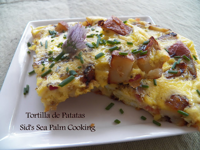 Tortilla de Patatas for Baking Bloggers