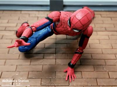 S.H.Figuarts Spider-man Homecoming + Wall - Tamashii Nations
