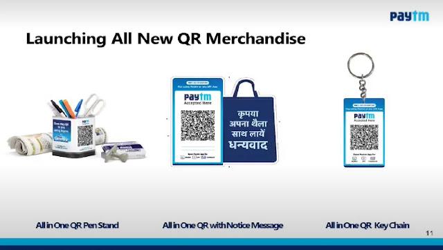 Paytm QR Merchandise