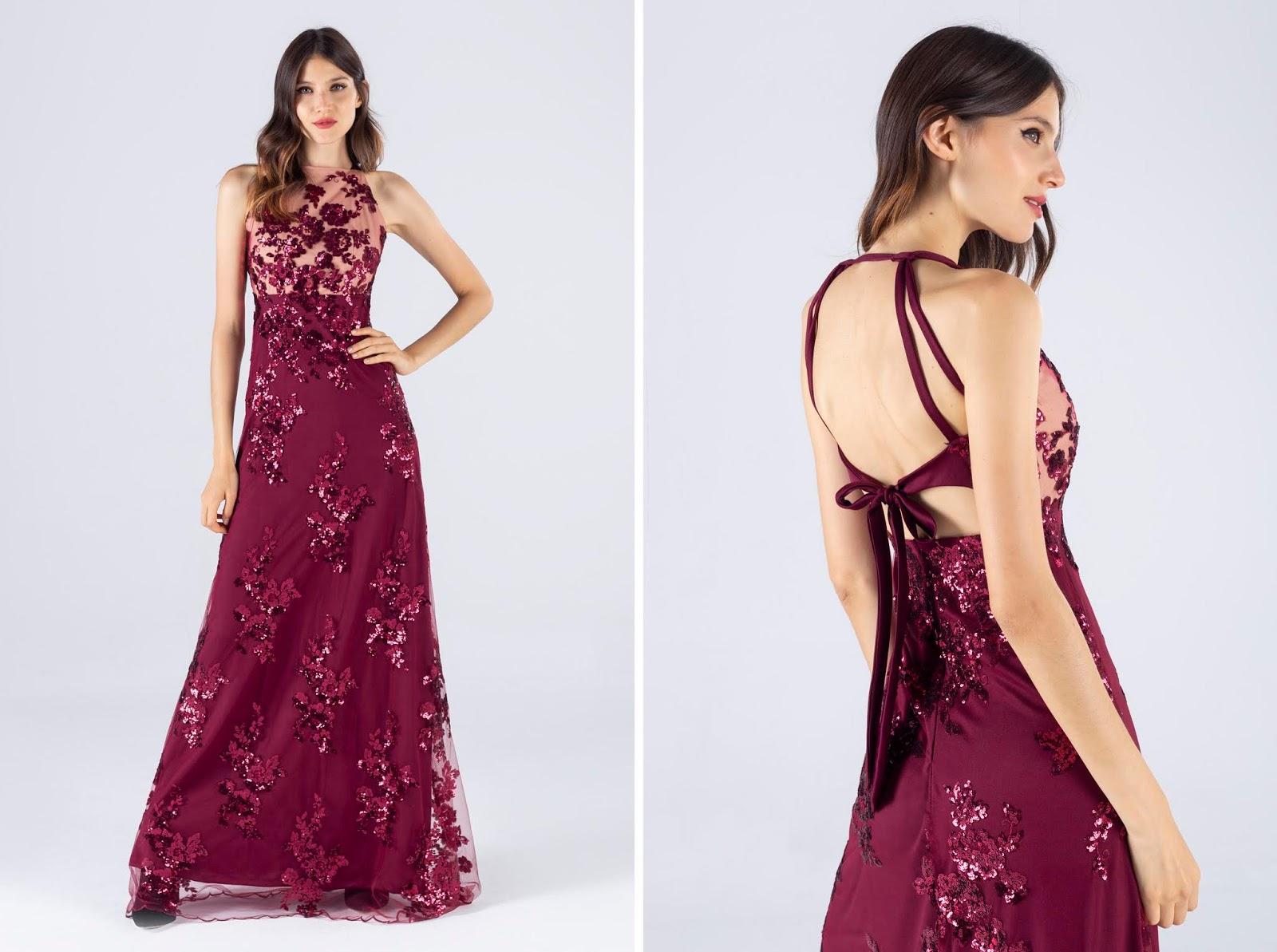 Vestido de fiesta largo 2020. Vestido de invitada a casamiento, boda. Vestido de fiesta 2020.