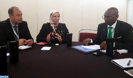 Al-Wafi discute en Corée du Sud avec un haut responsable du Fonds vert pour le climat afin de développer une coopération commune
