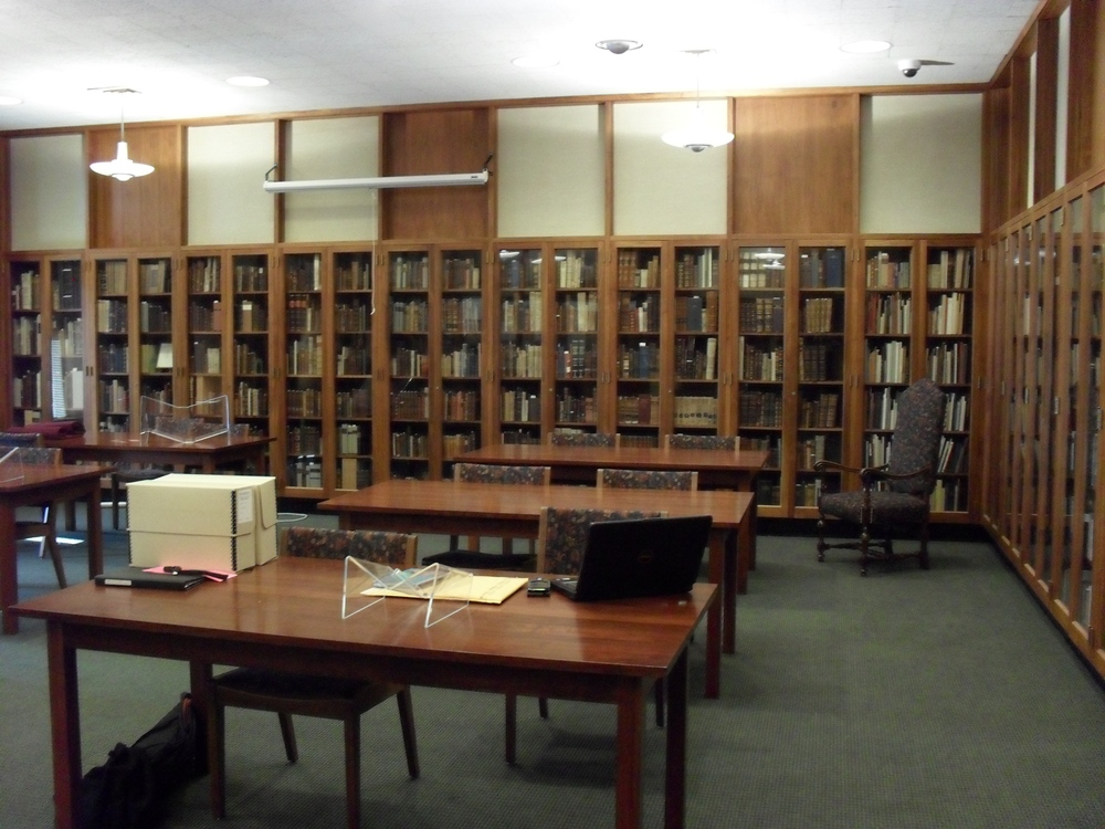 Mortimer Rare Book Room