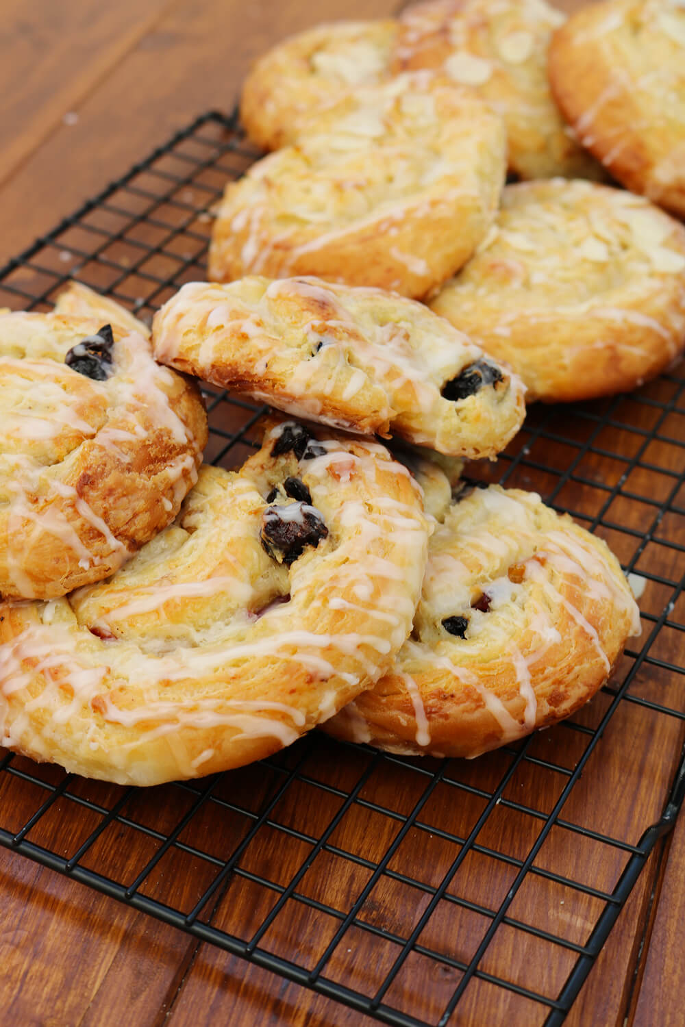 Berry and Almond Danish Pastries | Bake Off Bake Along | Take Some Whisks