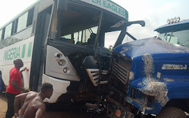 Akwa United Football team involved in accident in Enugu; players and officials injured
