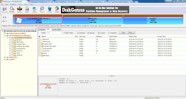 Download DiskGenius 4.9.64 Full Version