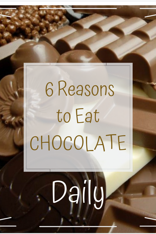 6 Reasons to Eat Chocolate Daily!