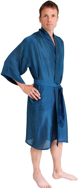 Good Quality Men's Silk Robes