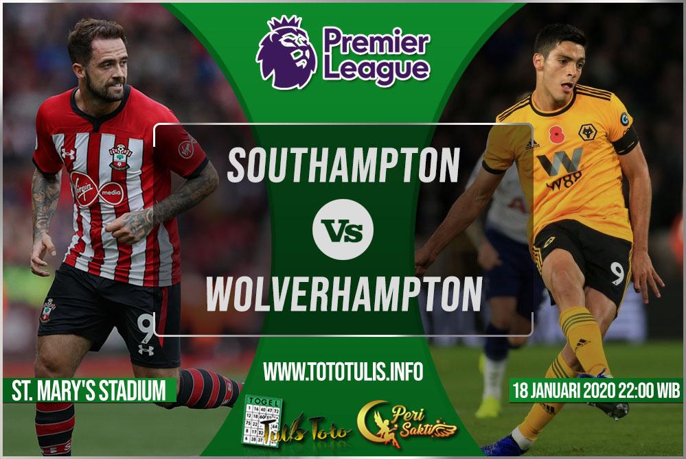 Prediksi Southampton vs Wolverhampton 18 Januari 2020