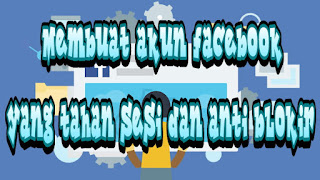 Membuat akun Facebook anti sesi blokir