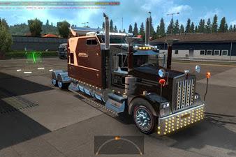 Mod Truck Kenworth W900 Long 1.35.x, 1.36.x