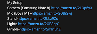 this is an example of amazon affiliate link on youtube