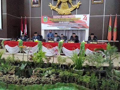 Ketua DPRD Tebo Ajak Semua Undangan Paripurna Mendengarkan Pidato Kenegaraan