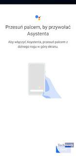 Uruchamianie Asystenta Google Gestem