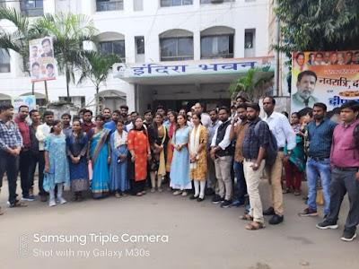 पॉलिटेक्निक एवं इंजीनियरिंग अतिथि विद्वानों ने पीसीसी एवं मंत्री के बंगले पर पहुच कर दिलाई वचन की याद | Bhopal News