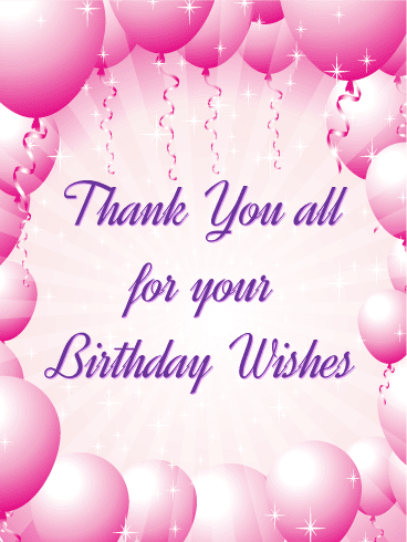 Thank You For The Congratulations : thank, congratulations, Emotional, Thank, Messages, Birthday, Wishes