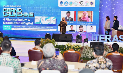 Kominfo Luncurkan Empat Modul Literasi Digital