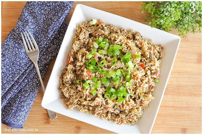 arroz sujo receita