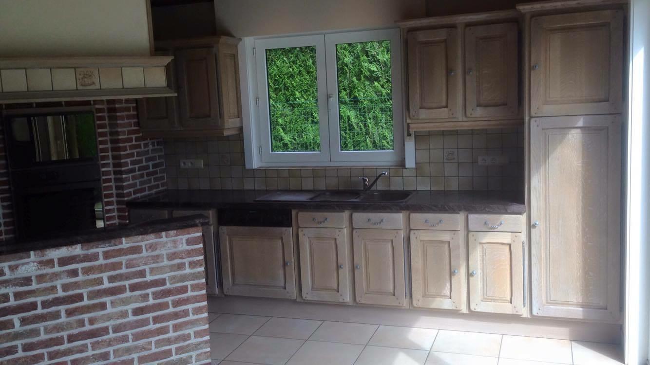 Renovatie Van Keukens : Renovatie van eiken keukens