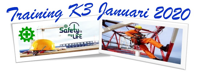 Training K3 Januari 2020 Promo Bonus Awal Tahun 2020