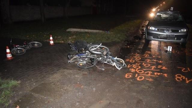 Részeg sofőr gázolt kerékpárosokat Békés megyében, az áldozatok között egy gyerek is volt
